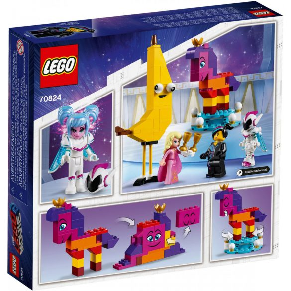 Lego 70824 The Lego Movie Introducing Queen Watevra Wa'Nabi