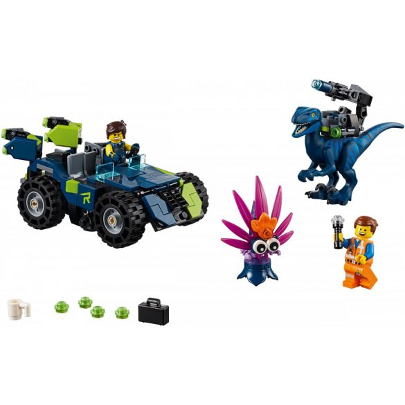 Lego 70826 The Lego Movie Rex-trém terepjáró