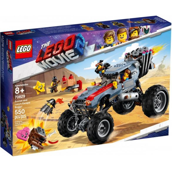 Lego 70829 The Lego Movie Emmet and Lucy's Escape Buggy!