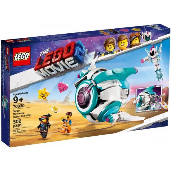 Lego 70830 The Lego Movie Sweet Mayhem's Systar Starship