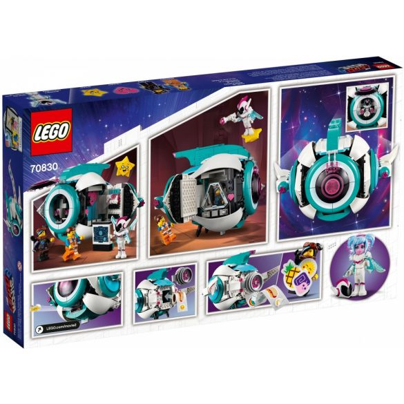 Lego 70830 The Lego Movie Édes Káosz Tesho űrhajója