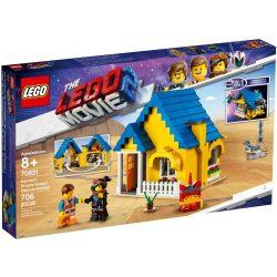 Lego 70831 The Lego Movie Emmet Álomháza/Mentőrakétája