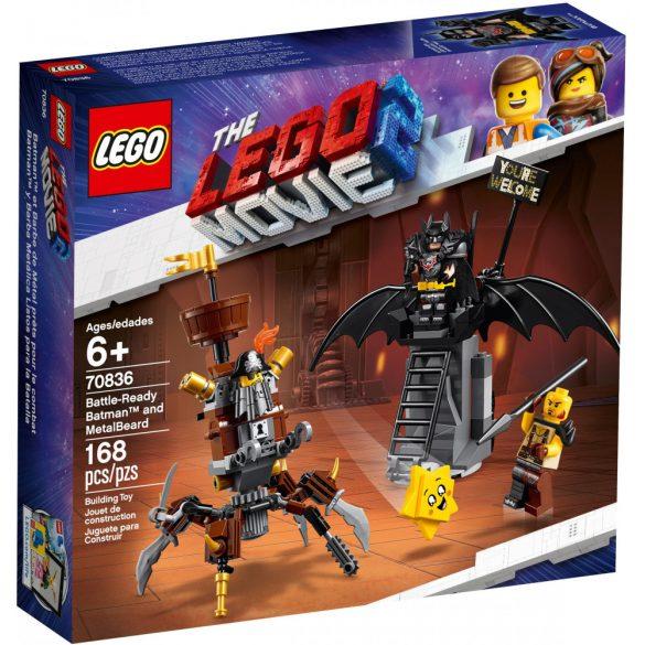 Lego 70836 The Lego Movie Harcra kész Batman és Fémszakáll