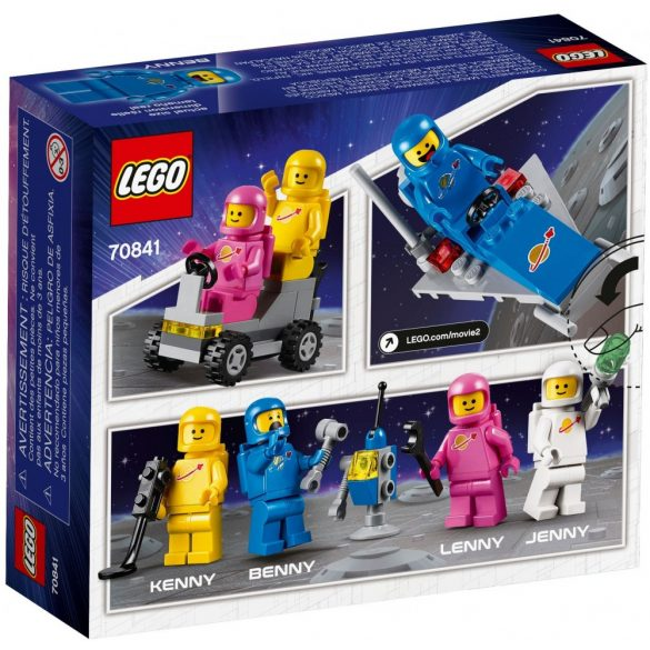 Lego 70841 The Lego Movie Benny's Space Squad