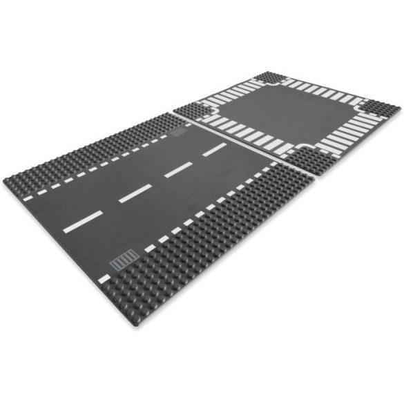 Lego 7280 City Straight & Crossroad Plates
