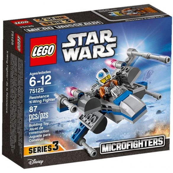 LEGO 75125 Star Wars Ellenállás Oldali X-szárnyú Vadászgép