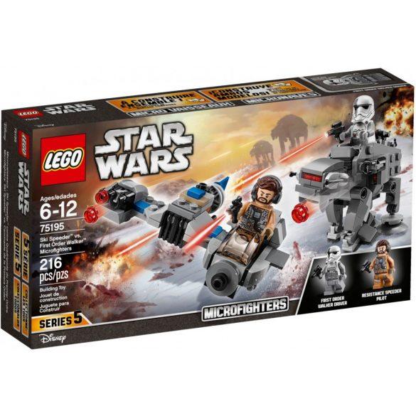Lego 75195 Star Wars Ski Speeder vs. Első Rendi Lépegető