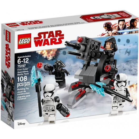 Lego 75197 Star Wars First Order Specialists Battle Pack