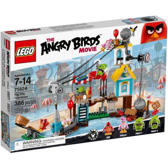 Lego 75824 Angry Birds Pig City Teardown