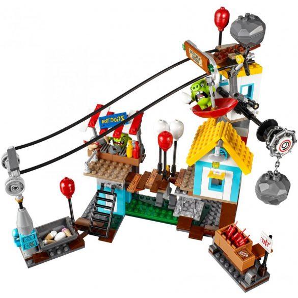 LEGO 75824 Angry Birds Malac város lerombolása