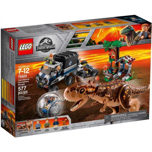 Lego 75929 Jurassic World Carnotaurus Menekülés A Guruló Gömbben
