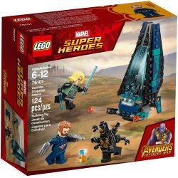 LEGO 76101 Super Heroes Outrider Dropship támadás