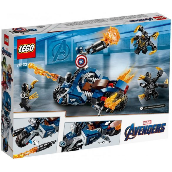 Lego 76123 Super Heroes Captain America: Outriders Attack