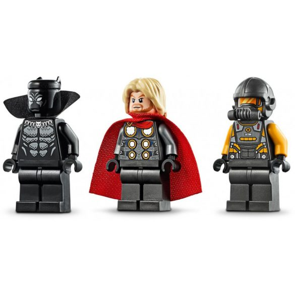 LEGO 76142 Super Heroes Bosszúállók Speeder biciklis támadás
