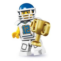 LEGO col08-5 Minifigures Serie 8 Football Player