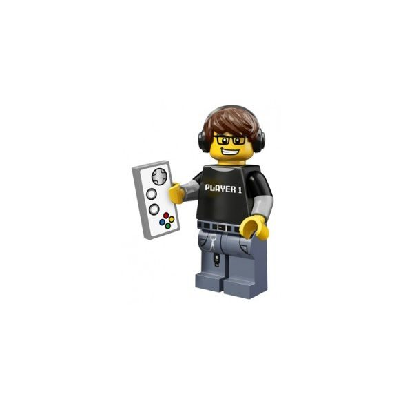 LEGO col12-4 Minifigures Serie 12 Video Game Guy