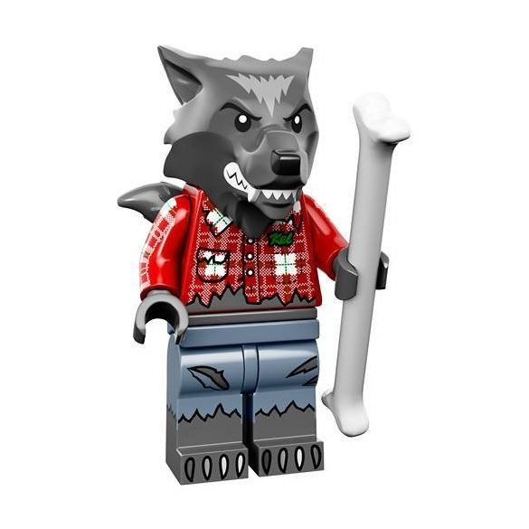 Lego col14-1 Minifigures Series 14 Wolf Guy