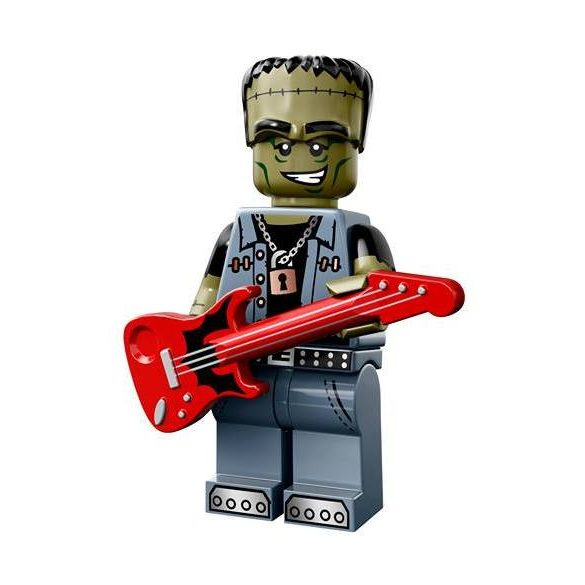 Lego col14-12 Minifigurák 14.sorozat Szörny Rocker